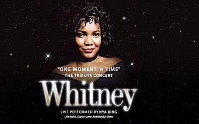 WHITNEY- ONE MOMENT IN TIME TOUR 2017