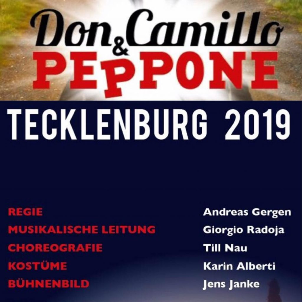 Probenbegin Don Camillo & Peppone in Tecklenburg