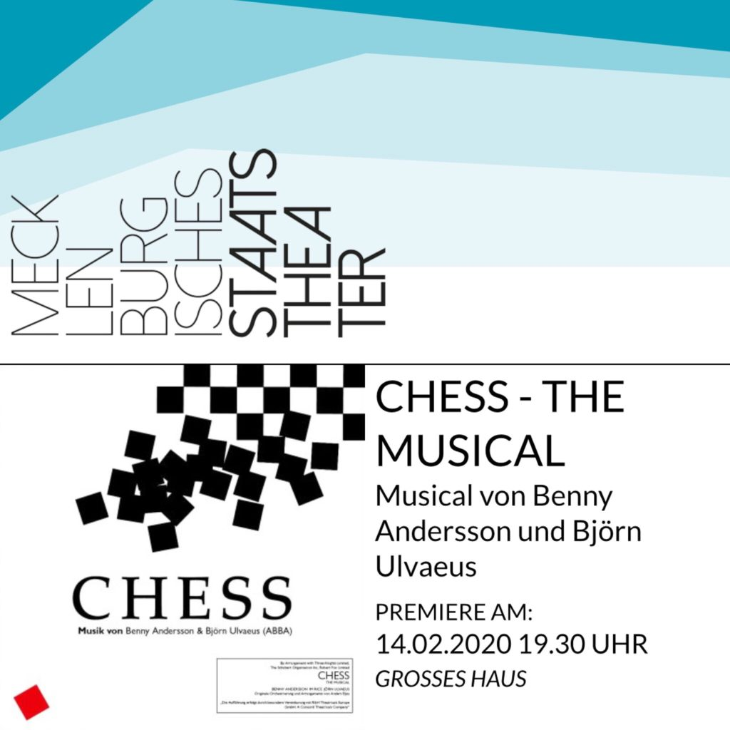 Chess Das Musical in Schwerin
